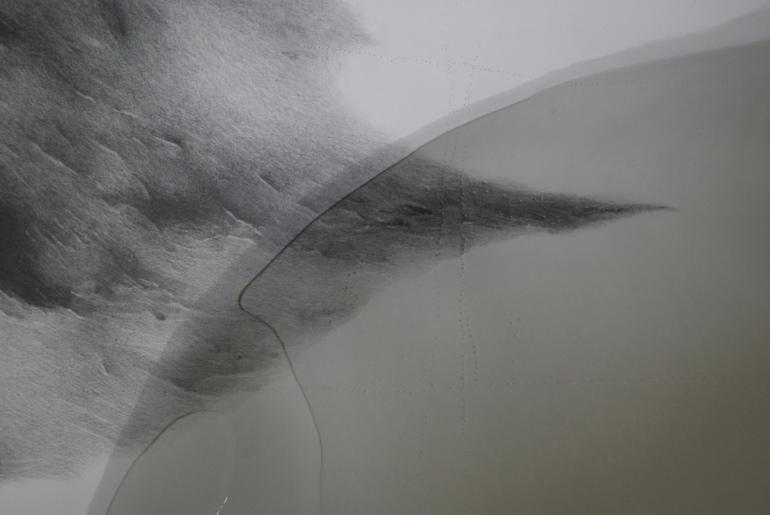 clean/baptism/swim:   paper, drawing, water