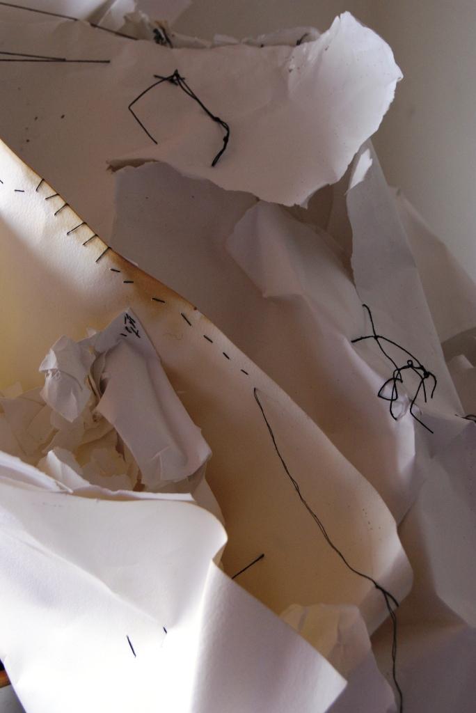 paper - stitch - paper