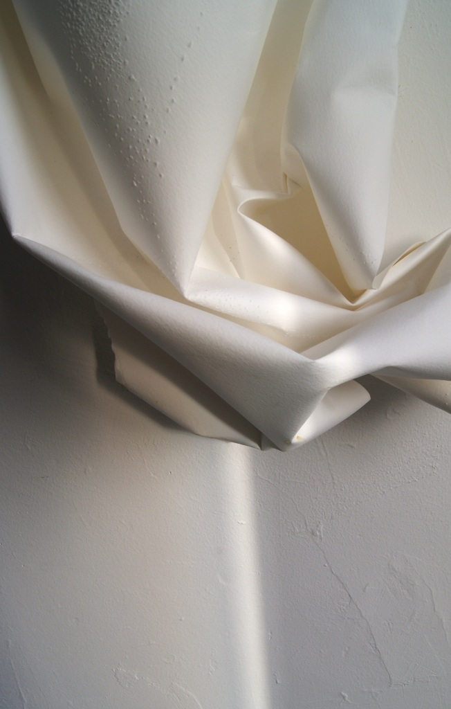 paper, light, wall, folding