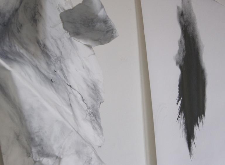 paper, graphite, line